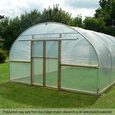 14FT WIDE POLY Tunnels Domestic Polytunnel Polythene Plastic Cover Spares