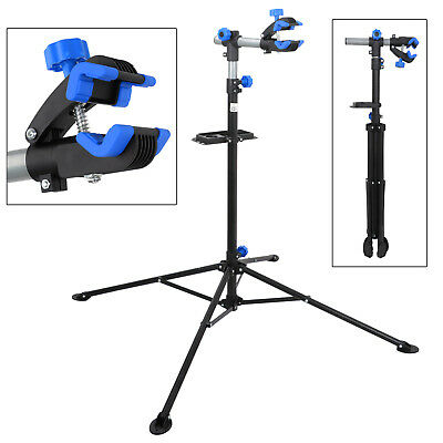 """Pro Bike 42"""" To 74"""" Repair Stand Adjustable w/ Telescopic Arm Cycle Bicycle Rack 11"""