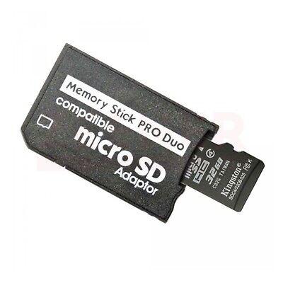Adaptador Micro SD a Memory Stick PRO DUO [ MicroSD - MS PRODUO - Sony - PSP ] 2