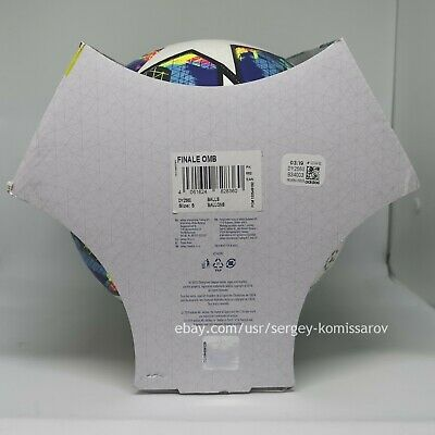 Adidas Champions League Finale 2019-2020 OMB ball, size 5, DY2560, with box 9