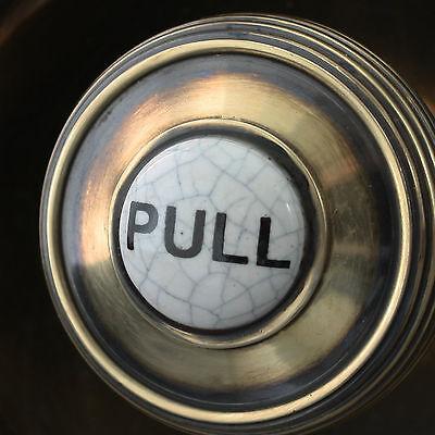 Brass Claverley Front Door Bell Pull 6