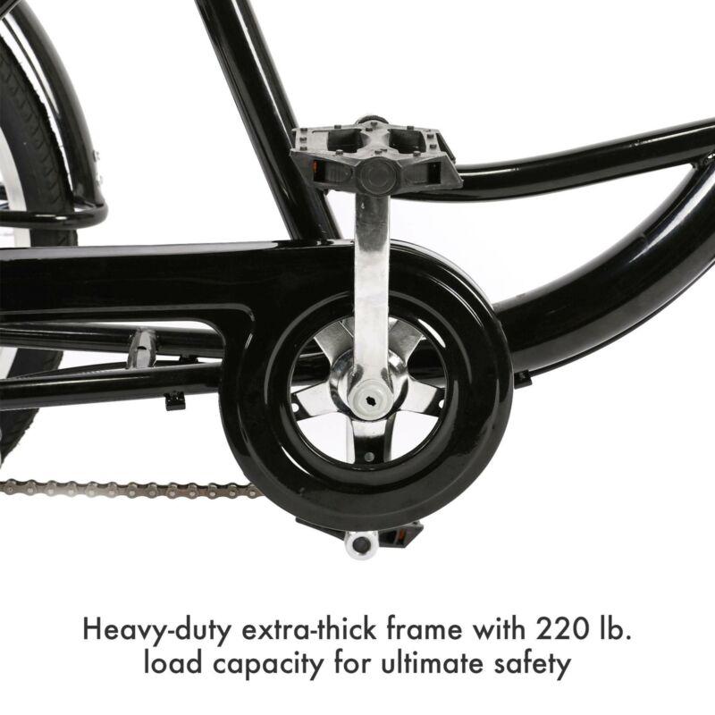 "26""/24""/20"" 8 Speed Adult Trike Tricycle 3-Wheel Bike w/Basket for Shopping 7"