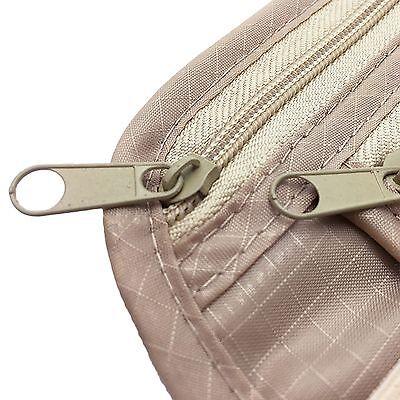 Travel Waist Pouch Passport Security Bag Money Belt Secure Ticket Card Wallet