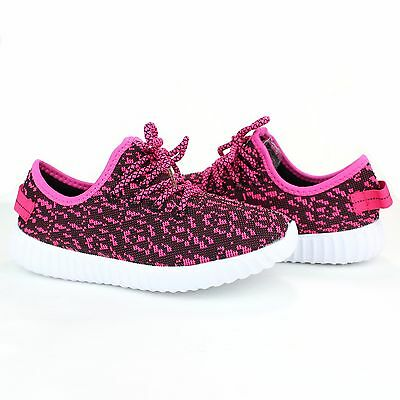 Boys Girls Kid's Toddler Sneakers Running Shoes Tennis Mesh Upper Unisex Lace Up