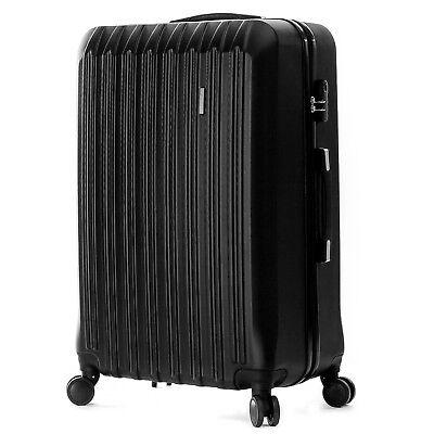 """4 Piece ABS Luggage Set Light Travel Case Hardshell Suitcase 16""""20""""24""""28"""" 5"""