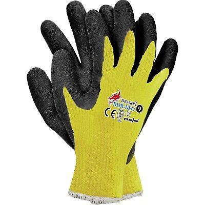 Arbeitshandschuhe Schutzhandschuhe Handschuhe Gelb Latex Top Gr.7 - 11 NEU 2