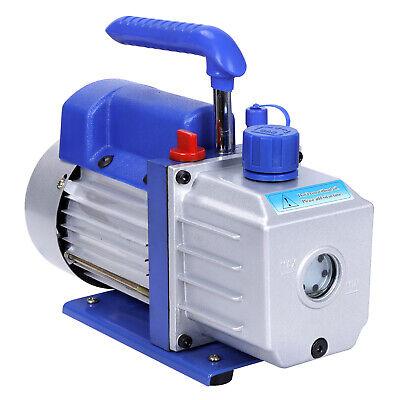Rotary Vane Deep Vacuum Pump 1Stage 4 CFM 1/3HP HVAC AC Air Refrigerant Tool 6