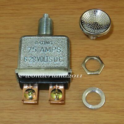 HD Push Pull Switch 75 amp Heavy Duty Big Trucks Hot Rods rat Custom a