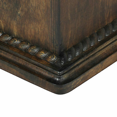 Beautiful solid wood casket with Bronze Statue - Arabian Horse cremation urn (1) 5