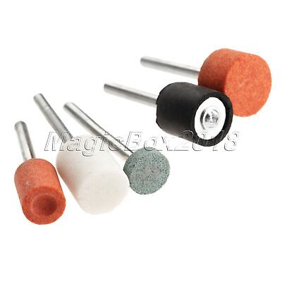 """100 Grinding Polish Cutting Rotary Tool Accessory Bit Set For Grinder 1/8"""" Shank 10"""
