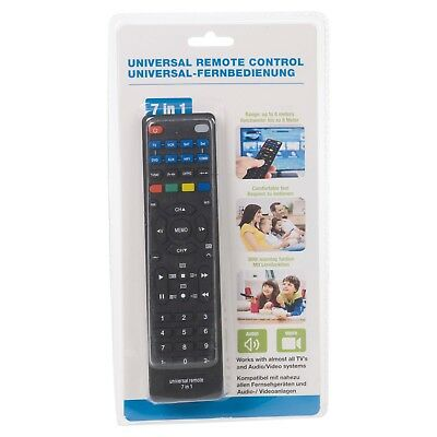 7 In 1 Devices Universal Remote Control Replacement Programmable TV DVD VCR HIFI 3
