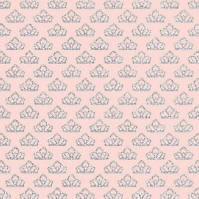 """GORGEOUS /""""PINK TRACTOR/"""" PRINTED FABRIC SHEET..HAIR BOWS CRAFTS E.T.C"""