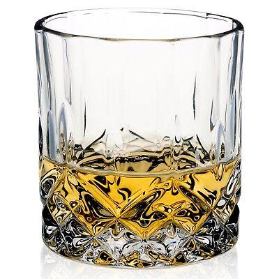 6 PCS Whiskey Tumblers Drinking Glasses Gift Boxed Set Wedding Present Xmas NEW 4