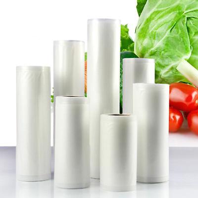 6/10 X Vacuum Food Sealer Seal Bags 6M Rolls Saver Storage Commercial 20 22 28cm 3