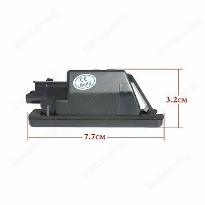 Lampe Feux 3008 De Peugeot 2x 406 308 D'immatriculation 307 Eclairage Plaque Led WYD9Ie2EH