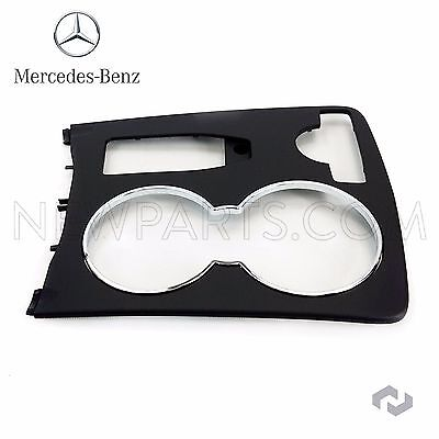 New genuine mercedes c class w204 black console cup holder for Mercedes benz usa customer service phone number