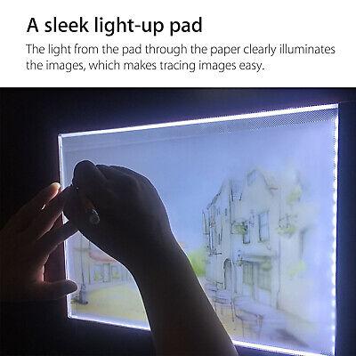 A4 USB LED Artist Tattoo Stencil Board Light Box Tracing Drawing Board Pad Table 6