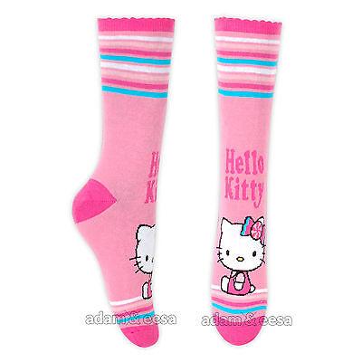 Ragazze Hello Kitty Caviglia Di Carattere Calze - Misura Opzioni Disponibili 7