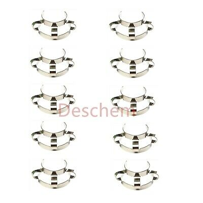 10 Pcs 29/32,29/42,Metal Clip,Keck Clamp,For 29# Glass Ground Joint 3