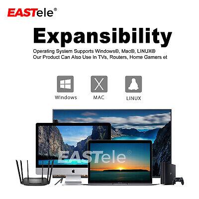 USB3.0 2TB External Hard Drives Portable Desktop Mobile Hard Disk Case EASTele 5