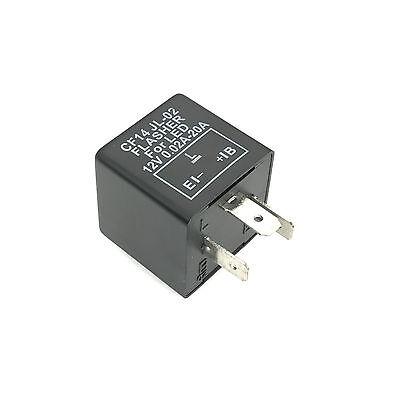 LED Blinker-Relais Lastunabhängig 12V 0,02-20A 3-Polig CF14 Flasher Blinkrelais 4