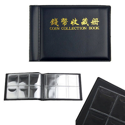 60 Collecting Collection Coin Penny Money Storage Album Book Holder Case LD APE 5