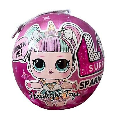 1 Authentic LOL Surprise SPARKLE SERIES Ball Big Sister Brother Dolls 2 3 4 5 6 3