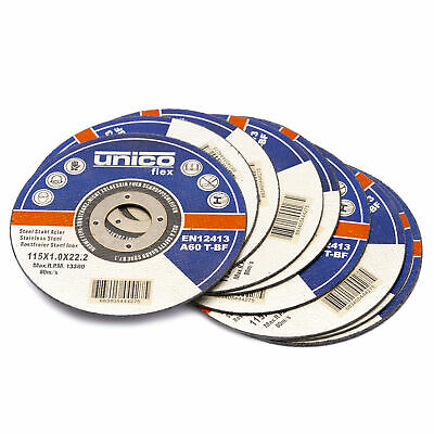 Trennscheiben 1mm Flexscheibe Inox Edelstahl Metall Extradünn 115 125 230 mm 5