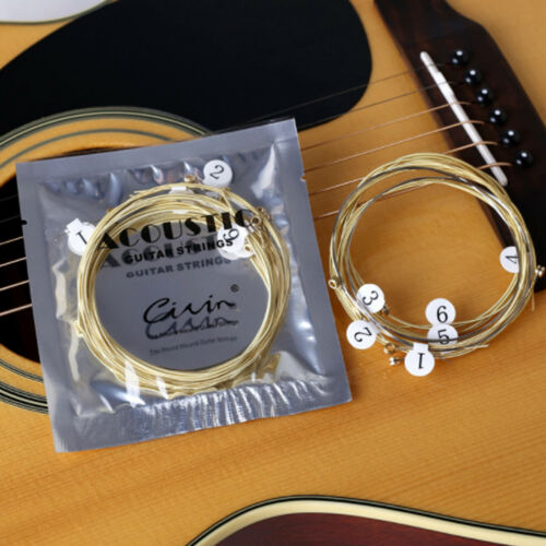 6 PCS Acoustic Guitar Strings Set Phosphor Bronze & Steel Strings 3