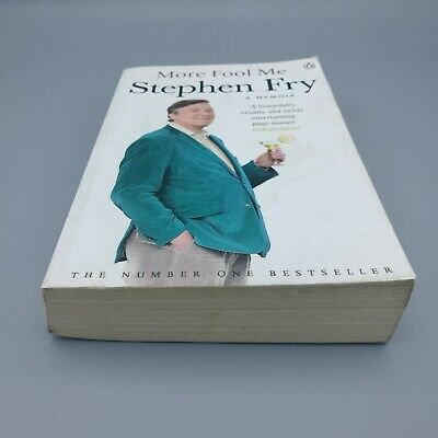 Stephen Fry Books Bundle. 5 items. More Fool Me, Heroes, The Fry Chronicles... 4