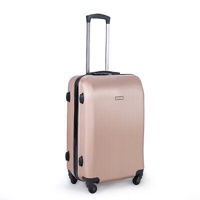 24 inch 65L Medium size Luggage Trolley Travel Bag 4 Wheels TSA lock hard case 2