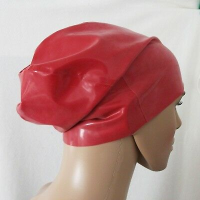 Latex chloriert Mütze Slouchy Beanie