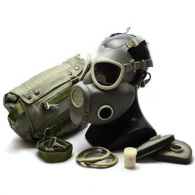 Polish Military Gas Mask MP-4 Genuine respiratory chemical Grey Olive OD NEW 2