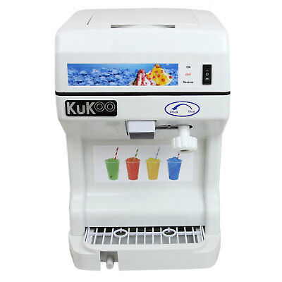 Ice Shaver Snow Cone Machine Slushie Frozen Ice Shaving Slush Commercial Maker 2