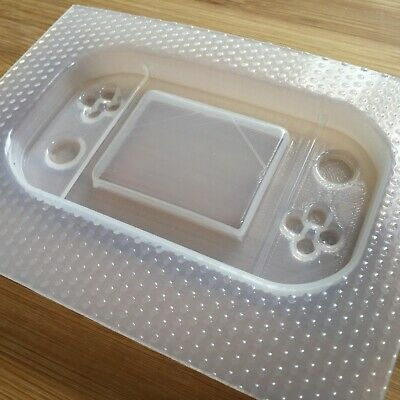 Handheld Game Console Plastic Mold Resin Molds Shaker Gamer UV resin mould 7