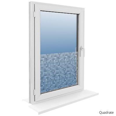 90 cm Fensterfolie Statische Sichtschutzfolie Milchglasfolie Glasdekorfolie 3