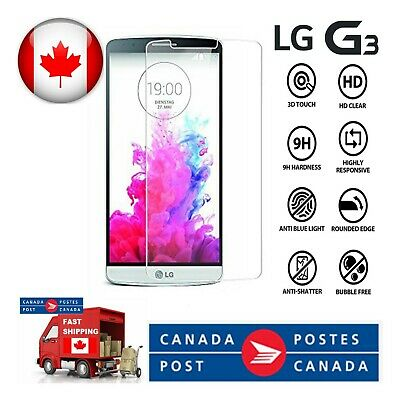 Tempered Glass Screen Protector for LG G3 G4 G5 G6 G7 G8 Anti-Scratch 2