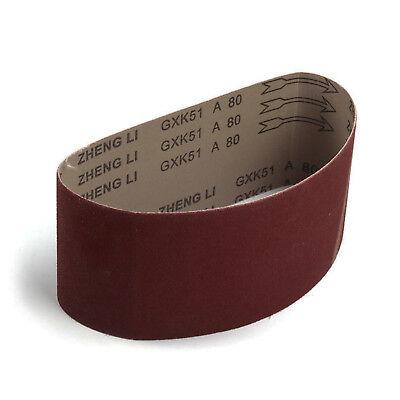 100x610mm Sander Sanding Belt 40~600 Grit For wood Metal Grinding Polishing Tool 9