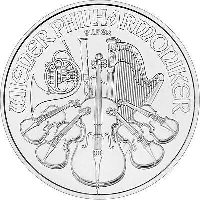 2019 Austria Silver Philharmonic 1oz BU 20pc Tube 2