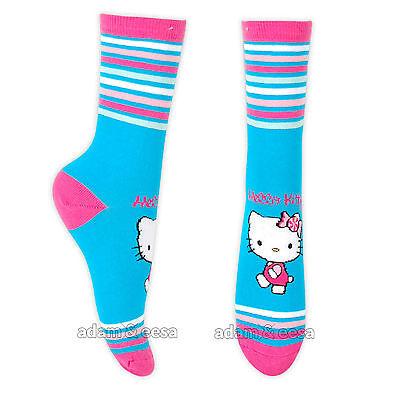 Ragazze Hello Kitty Caviglia Di Carattere Calze - Misura Opzioni Disponibili 4