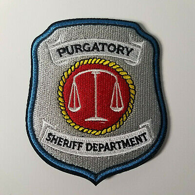 Wynonna Earp Purgatory Patch 3 inches wide 3 1/2 inches tall 6