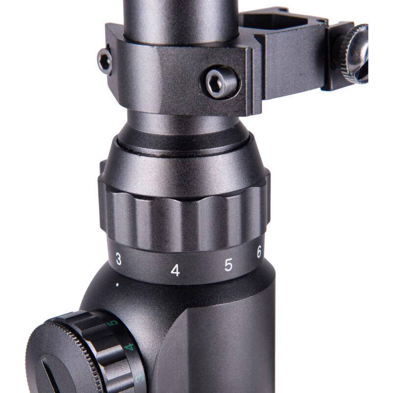 Rifle Scope Mil-Dot Illuminated Red & Green 3-9X40 E Optics Hunting Air Sniper 9