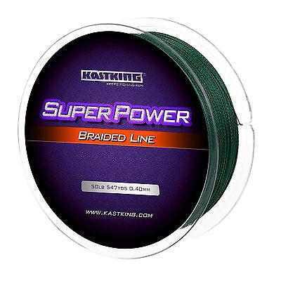[UPGRADED] KastKing SuperPower Braided Fishing Line - Abrasion Resistant Braid 2