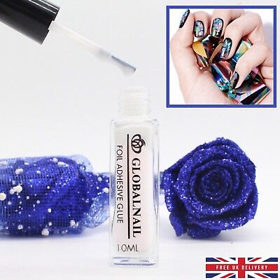 TRANSFER FOIL ADHESIVE NAIL GLUE  Star For Paper White Clear 10ML 5