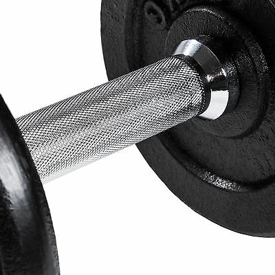2er Set 10 kg Kurzhanteln Hantelset Gusseisen Hanteln Gewichte Hantelscheiben