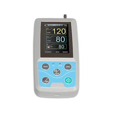 24 Hour Ambulatory Blood Pressure Monitor NIBP Holter USB Software,US Seller,FDA 6