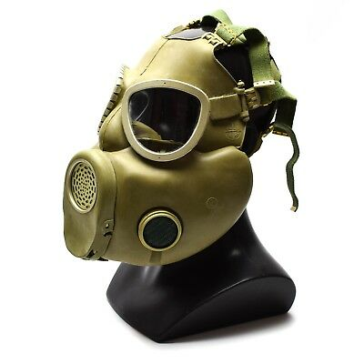 Polish Military Gas Mask MP-4 Genuine respiratory chemical Grey Olive OD NEW 8