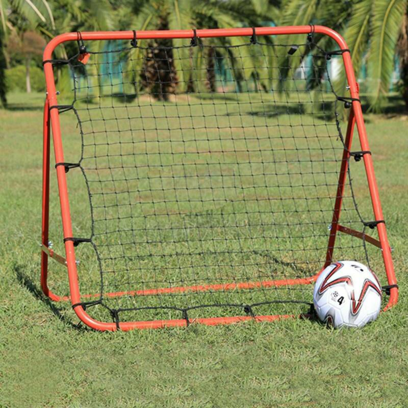 New Rebounder Net Kids Adults Football Training Aid Practice Adjustable 9
