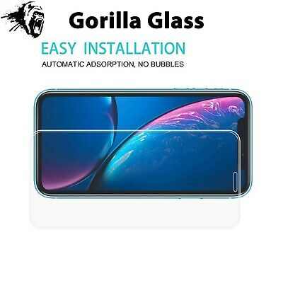 Screen Protector for New iPhone XR XS Max XS X Gorilla Tempered Glass 5