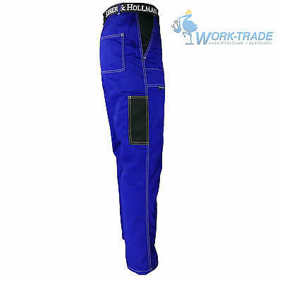 Arbeitshose Bundhose Berufsbekleidung Arbeitskleidung Blau Gr. 46 - 62 NEU TOP